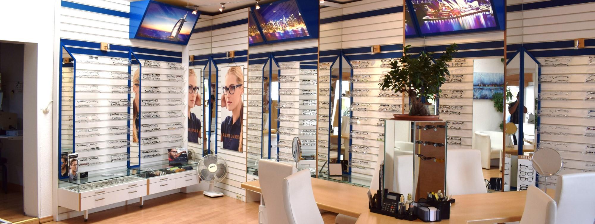 Augentrend Optik Verkaufsraum